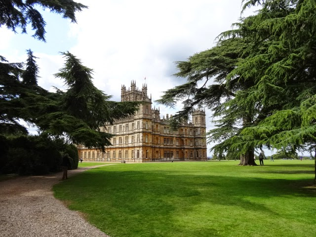 Highclare Castle, home of the famed BBC TV series, Downton Abbey